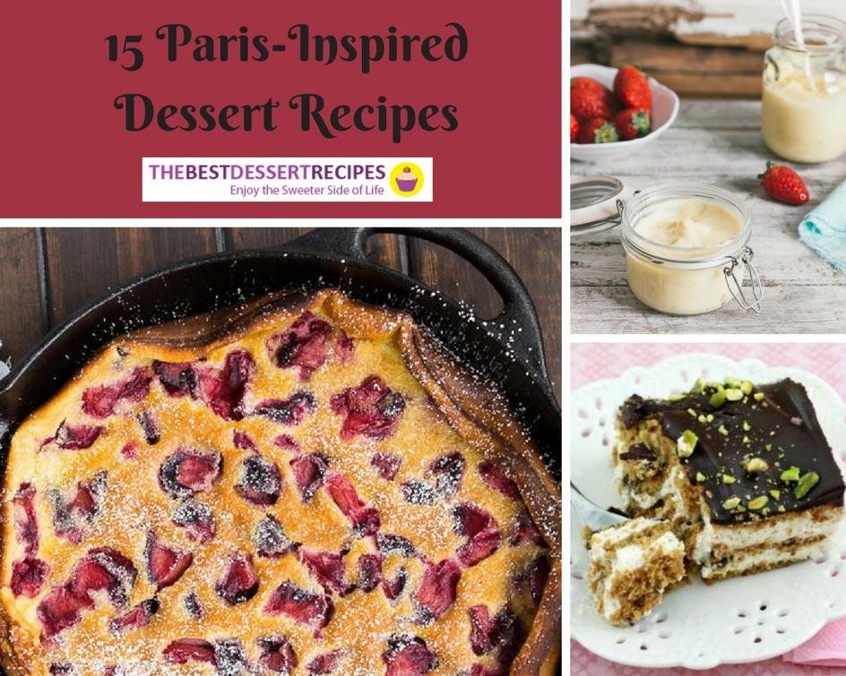 15 Paris-Inspired Dessert Recipes
