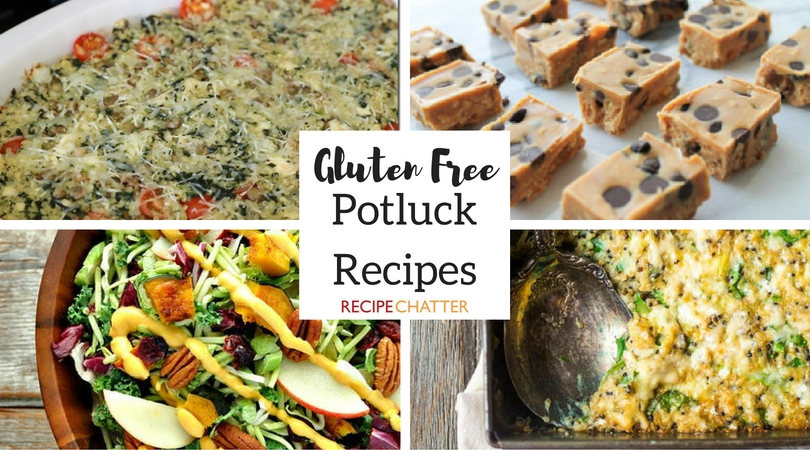 Gluten Free Potluck Recipes