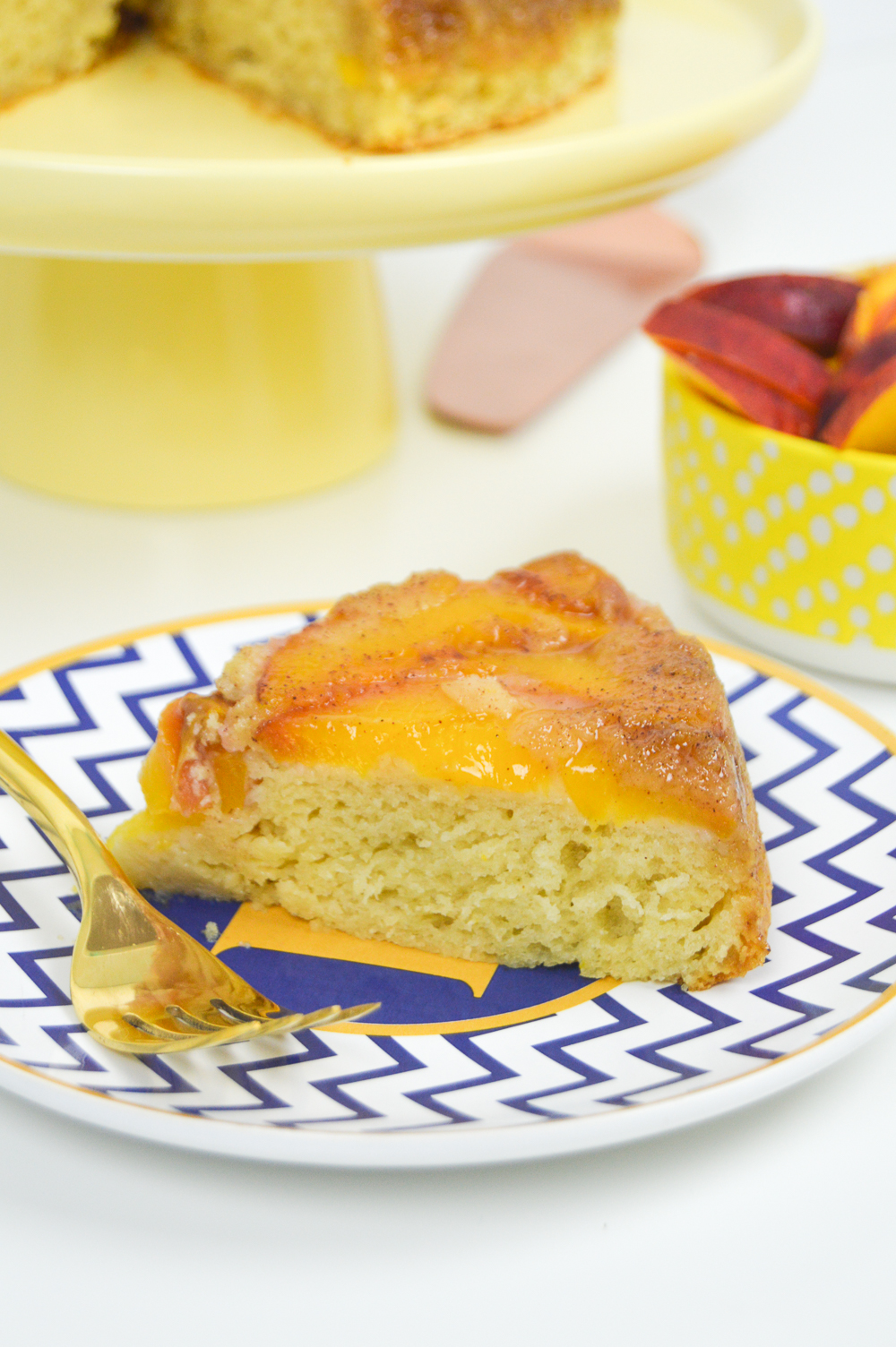 peach upside down cake cake recipechatter 6406