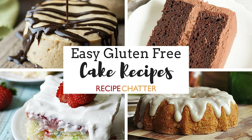 Easy Gluten Free Cake Recipes