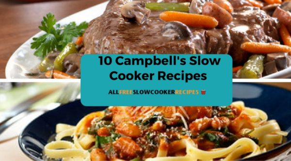 10 Campbell's Slow Cooker Recipes: Delicious Dinner Options