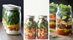 Healthy Mason Jar Salad Recipes