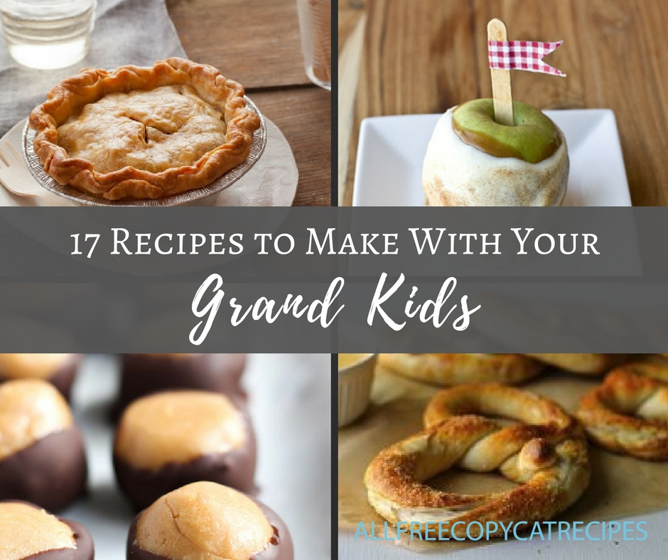 17 Recipes to Make With Your Grand Kids