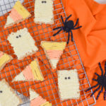 Halloween Rice Krispie Treats: Mummies & Candy Corn