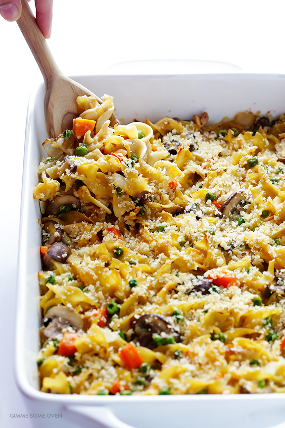 Lightened-Up Weeknight Tuna Casserole