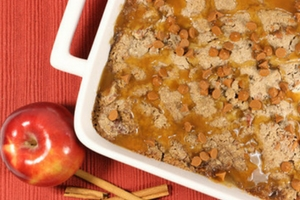Easy Cinnamon Apple Dump Cake