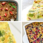 Healthy Breakfast Casseroles for Holiday Brunch