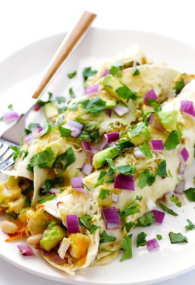 Leftover Turkey Enchiladas