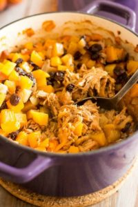 One-Pot Pulled Pork and Apple Casserole