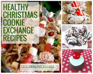 Healthy Christmas Cookie Exchange Recipes