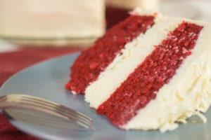 Better Than Cheesecake Factory's Red Velvet Cheesecake