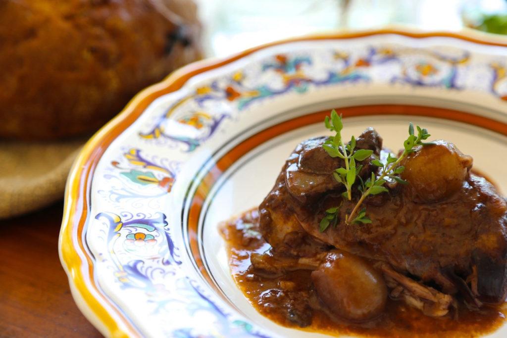 Slower Cooker Coq au Vin a la Julia Child