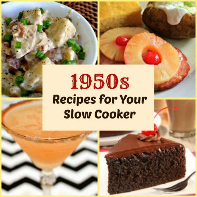 Vintage Slow Cooker Recipes From The 1950s