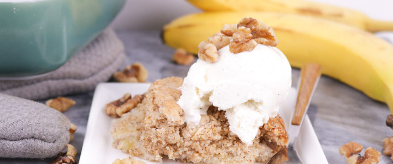 How to Make Banana Bread Dump Cake