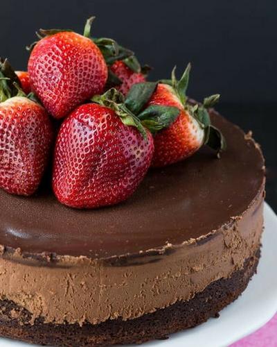 Terrific Triple Chocolate Mousse Cake
