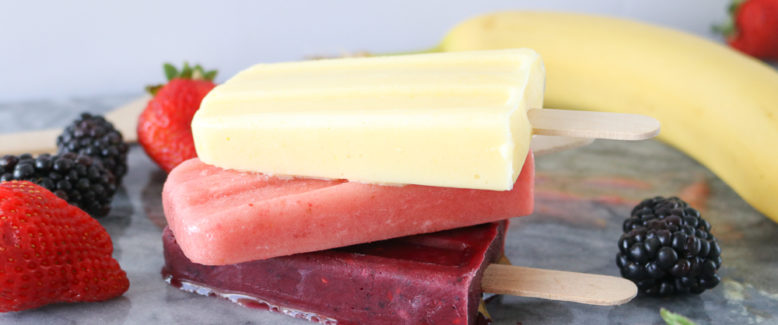 3 Easy Breakfast Smoothie Popsicle Recipes
