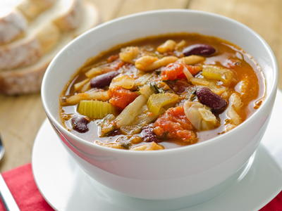 Quick Minestrone Soup