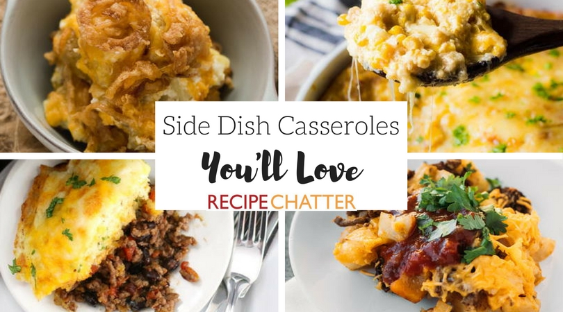 8 Side Dish Recipes You'll Love