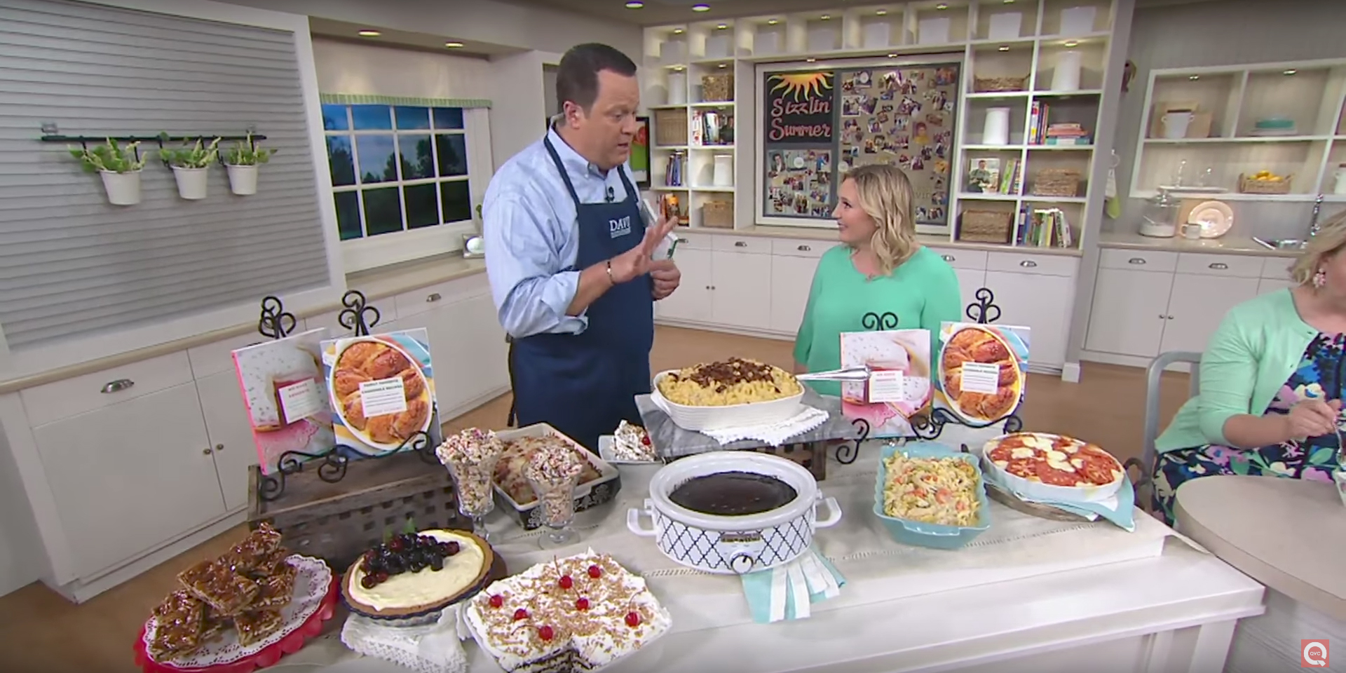 Addie Gundry at QVC's In the Kitchen with David