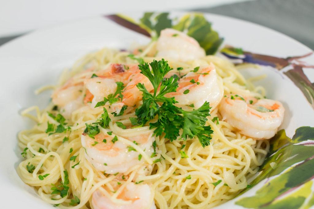 Olive Garden's Shrimp Scampi