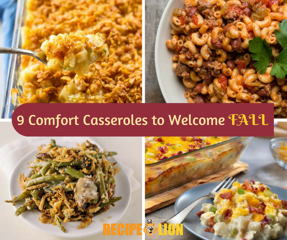 Comfort Casseroles to Welcome Fall