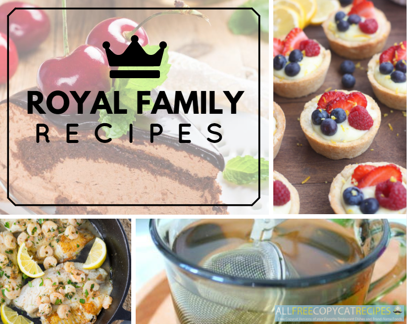 Royal Family Recipes
