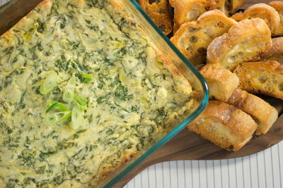 Olive Garden Spinach and Artichoke Dip Copycat