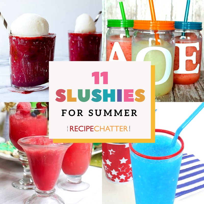 11 Slushy Drinks for Summer