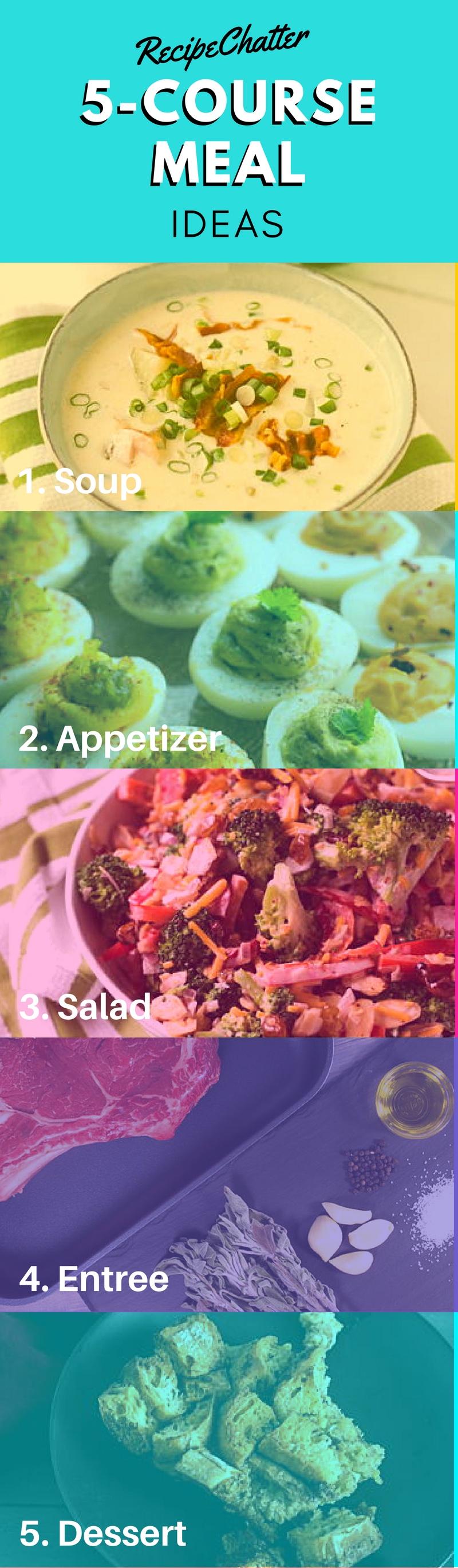 5-Course Meal Ideas