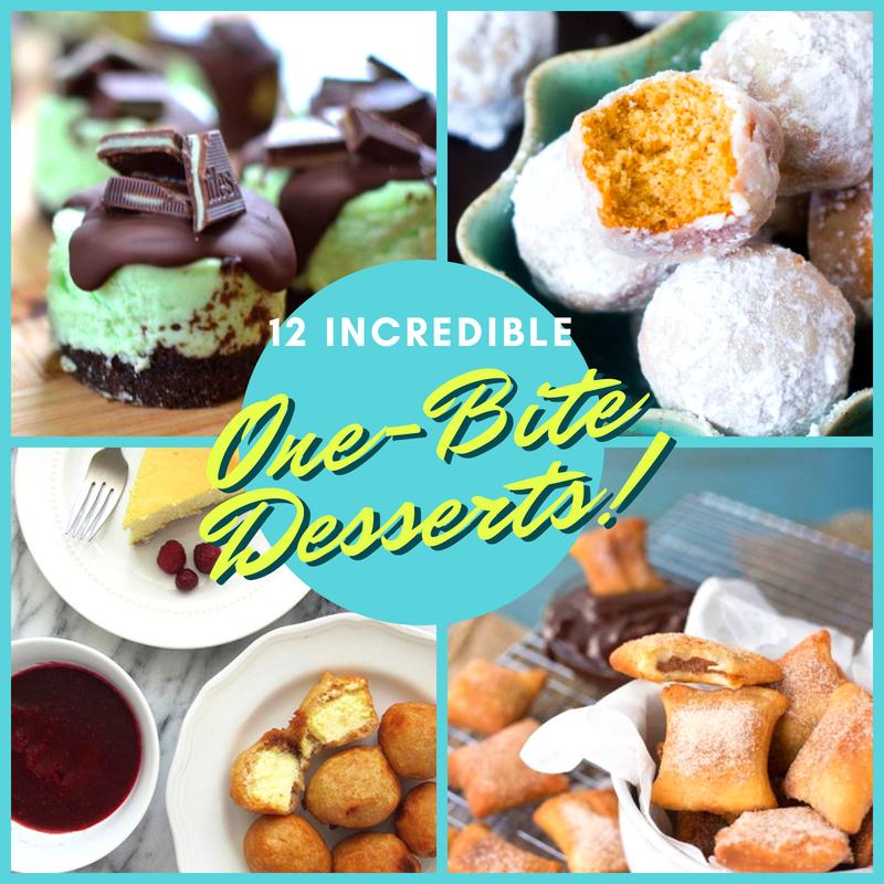 12 Incredible One-Bite Desserts