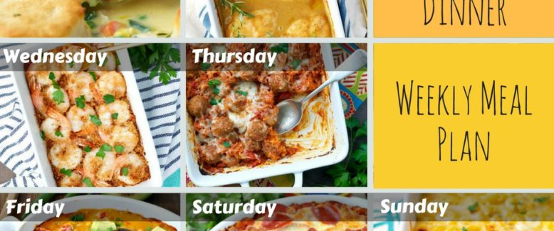 Your Dump and Go Meal Plan